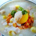 Cháo trứng bạch quả thơm ngon bổ dưỡng bạn đã thử chưa