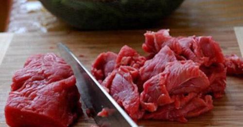 Thịt bò thái miếng mỏng
