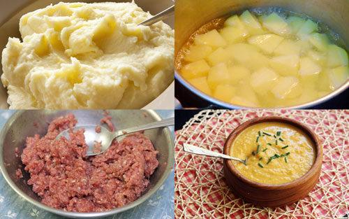 Cách nấu cháo thịt bò khoai tây