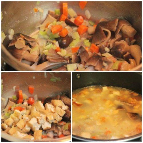Cách nấu cháo thập cẩm chay