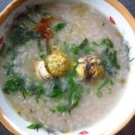 Cháo trứng vịt lộn đúng điệu thơm ngon bổ dưỡng