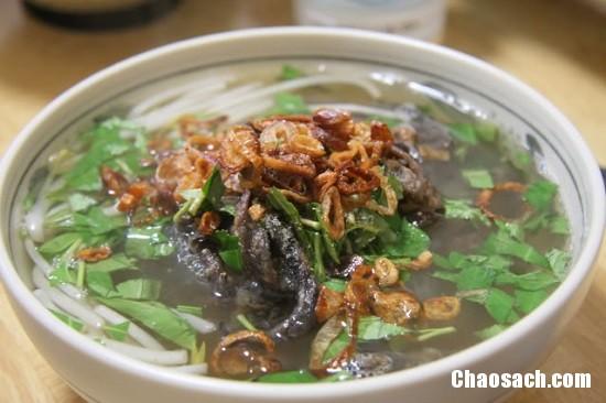 Món miến lươn khô giòn tan ngon tuyệt