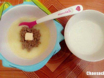 Súp khoai tây tim gan gà nhiều dưỡng chất cho bé ăn dặm