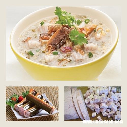 Cháo lươn khoai môn rất bổ dưỡng cho bé yêu nhà bạn hết biếng ăn, còi cọc