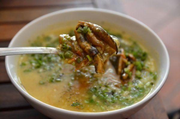 Cháo lươn món ngon bổ dưỡng cho phụ nữ mới sinh