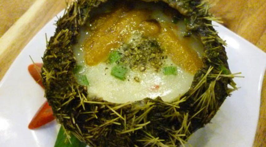 Cháo Nhum biển món cháo vô cùng giàu chất bổ dưỡng