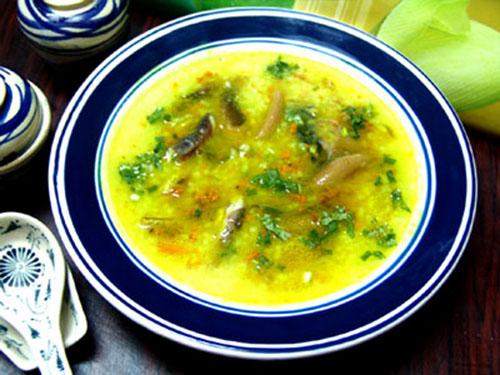 Cháo lươn cà rốt bổ dưỡng cho bé