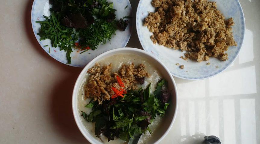 Món cháo cá chép đậu xanh thơm ngon dinh dưỡng mà không tanh