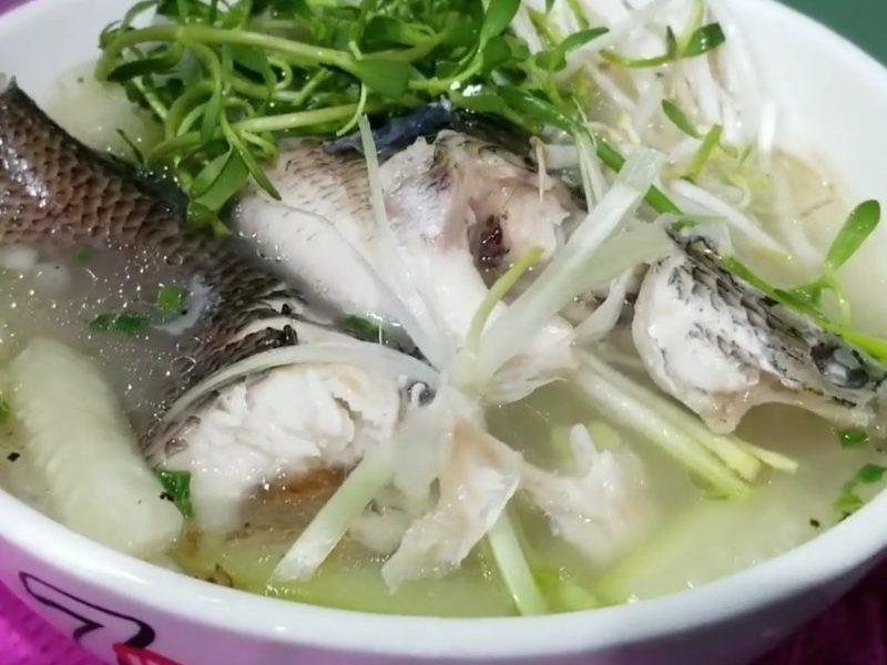 Món cháo cá lóc nấu bầu ai ăn cũng thích mê