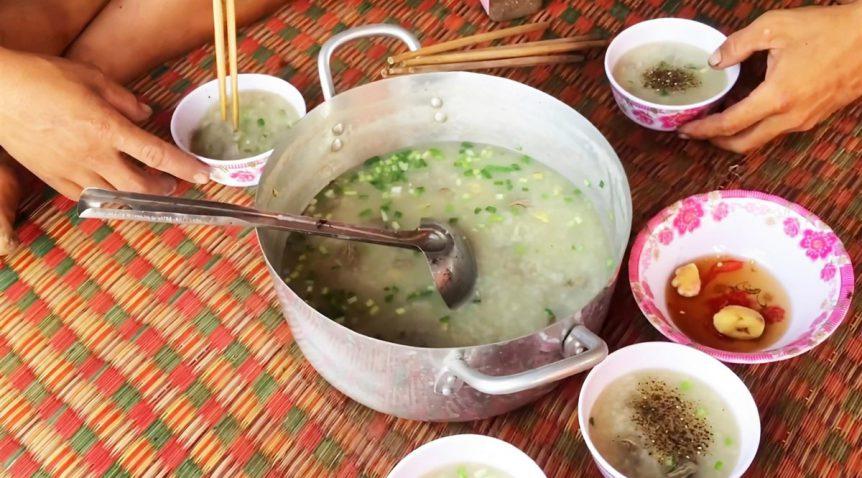 Món cháo sá sùng ngon bổ dưỡng dễ làm tại nhà