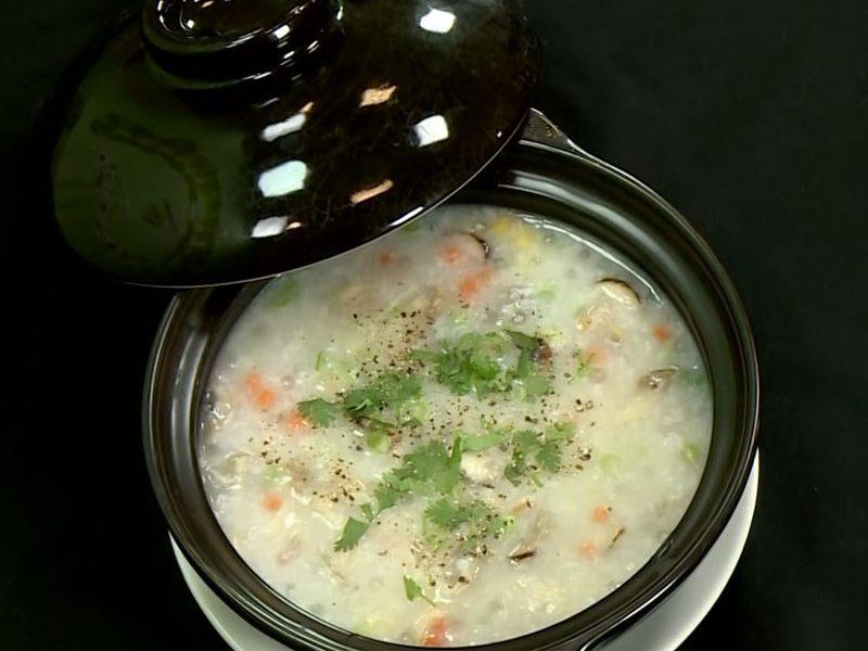 Món cháo bơ thập cẩm chay thơm ngon đầy dưỡng chất