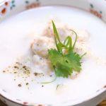 Món cháo bồi tôm nước cốt dừa lạ miệng ngon khó cưỡng