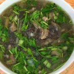 Món cháo gạo lứt thịt bò giúp giảm cân hiệu quả