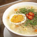 Món cháo hạt sen thịt bằm và trứng lạ miệng ngon bổ dưỡng