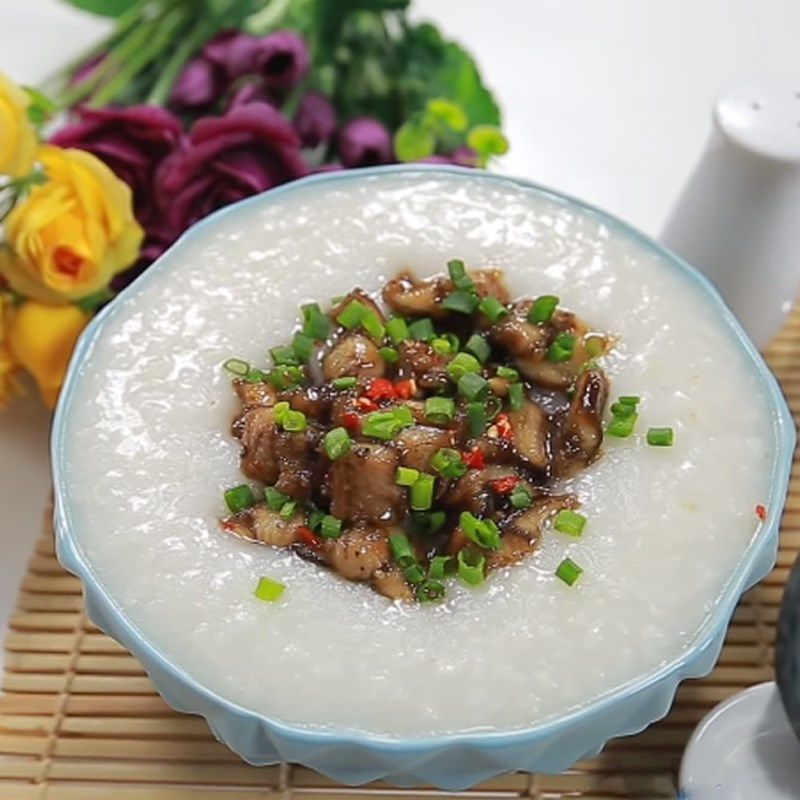Món cháo lươn Singapore thơm ngọt ấm bụng ngày mưa