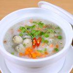 Món cháo nấm rơm thơm ngon bổ dưỡng cho bé