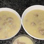 Món cháo sườn bằng nồi cơm điện mềm ngon đơn giản