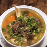 Món cháo sườn bò đậu xanh mềm ngon dễ làm tại nhà