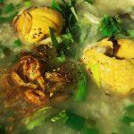 Món cháo trứng vịt lộn đậu xanh thơm lừng bổ dưỡng