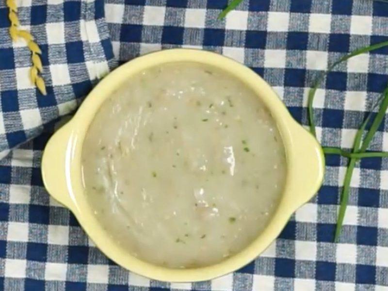 Món cháo vịt khoai sọ mềm ngon dễ làm