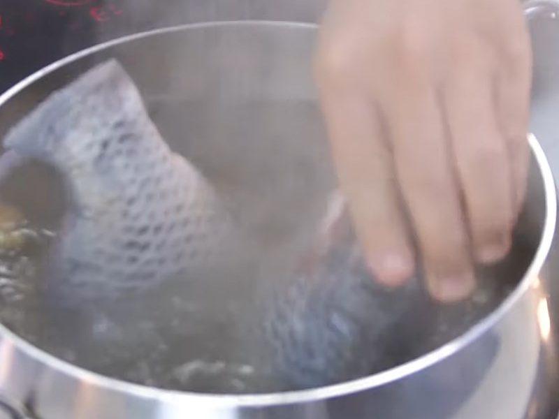 Luộc cá