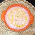 Món cháo đậu hũ cà chua béo thơm cho bé ăn dặm