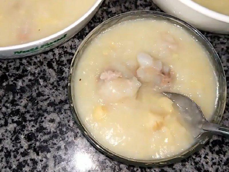 Món cháo đậu xanh hạt sen sườn thơm ngon hấp dẫn
