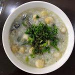 Món cháo hàu nấm rơm béo thơm bổ dưỡng cho cả nhà