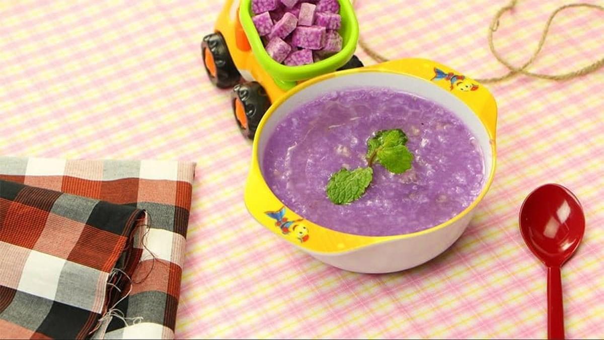 Món cháo thịt bằm khoai mỡ thơm ngon đủ dưỡng chất cho bé