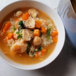 Món cháo tôm nấm rơm cà rốt ngon đậm đà hấp dẫn