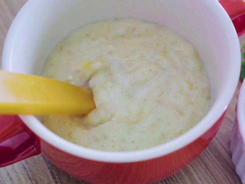 Món cháo yến mạch khoai tây dinh dưỡng cho bé ăn dặm