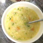 Món cháo cá thu cà chua dinh dưỡng cho bé