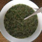 Món cháo bồ câu rau mồng tơicực ngon bổ dưỡng cho bé