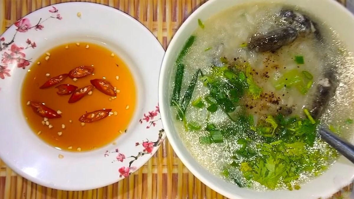 Món cháo cá kèo hànhlá vừa thơm ngon lại vừa dễ nấu tại nhà
