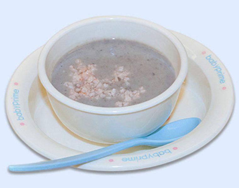Cháo đậu đỏ tôm tươi giúp bổ sung dưỡng chất và dễ tiêu hóa