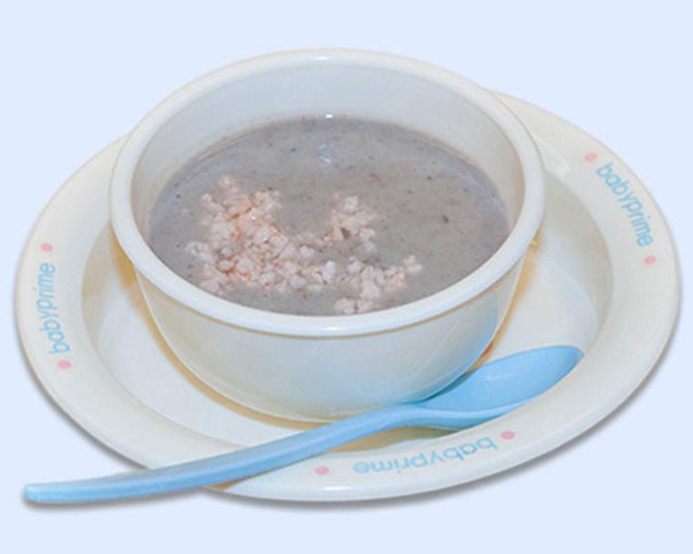 Món cháo đậu đỏ tôm tươi giúp bổ sung dưỡng chất và dễ tiêu hóa