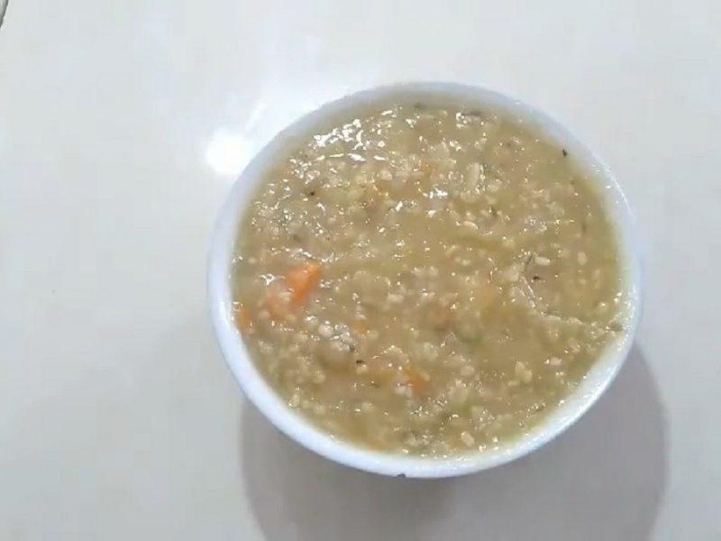 Món cháo khoai lang đậu xanh đơn giản mà ngon bổ dưỡng