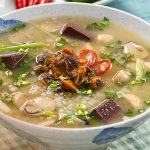 Món cháo sò huyết ngon bổ dưỡng bồi bổ sức khỏe