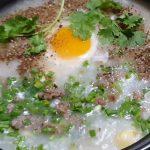 Món cháo thịt bò hạt sen đơn giản giúp giải nhiệt