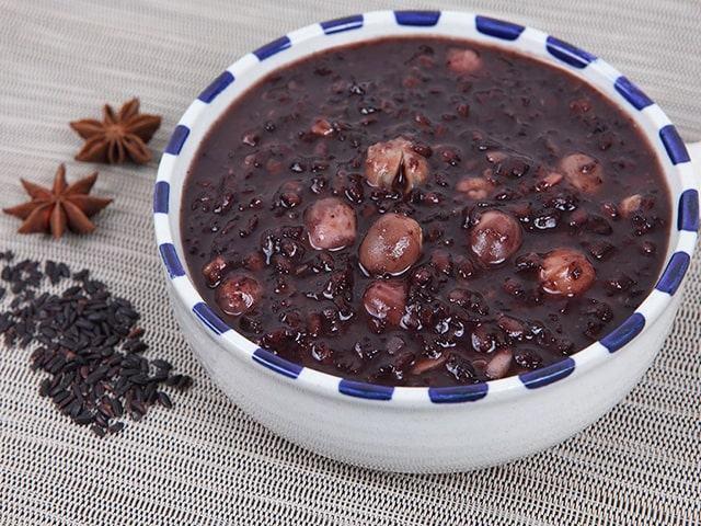 Món cháo chay từ đậu đen tốt cho sức khỏe
