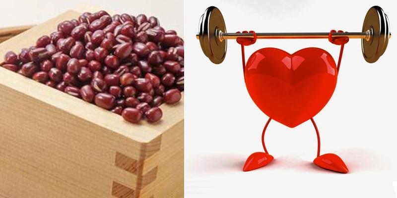 Đậu đỏ giúp ngừa các bệnh về tim mạch