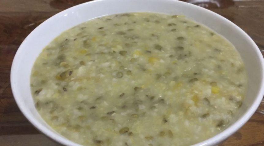 Món cháo bí đỏ đậu xanh thanh đạm cho ngày ăn chay