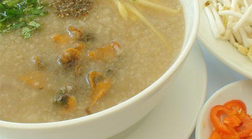 Món cháo sò huyết thập cẩm giàu dinh dưỡng bồi bổ sức khỏe