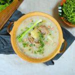Món cháo đuôi bò bổ sung dinh dưỡng cho cả nhà