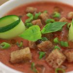 Món súp cà chua lạnh Tây Ban Nha cực ngon tại nhà